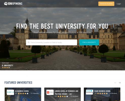 EDUopinions website